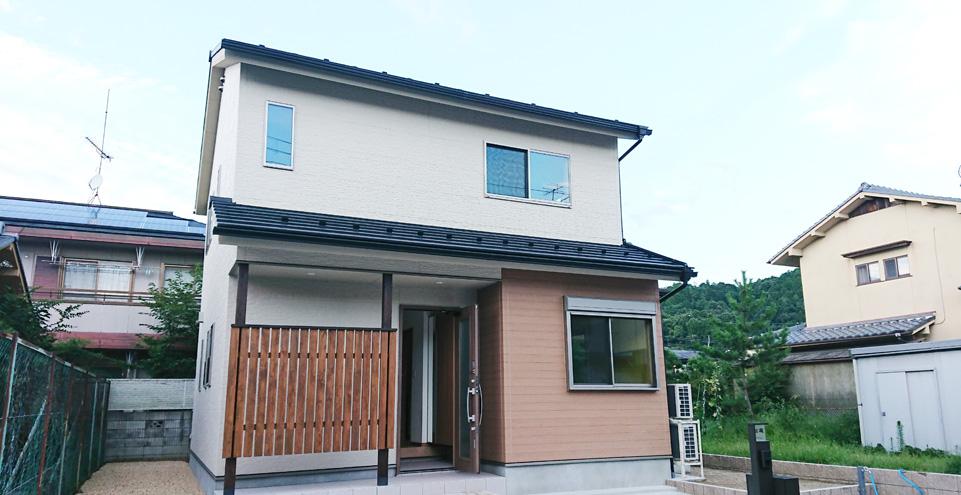 京都市内のゼロエネルギーの住宅が得意